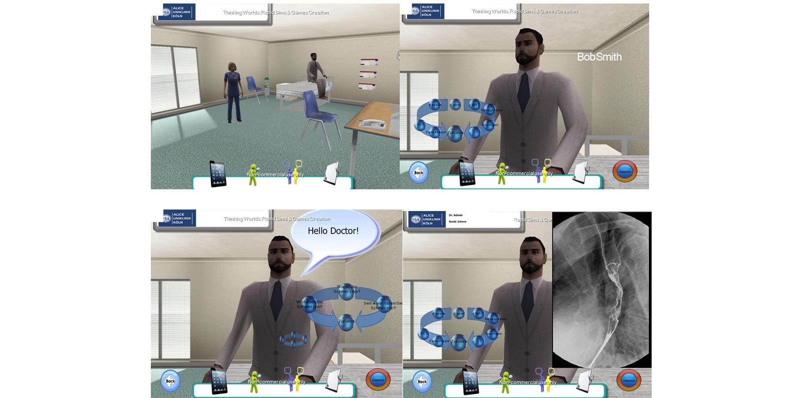 JMIR - Web-Based Immersive Virtual Patient Simulators