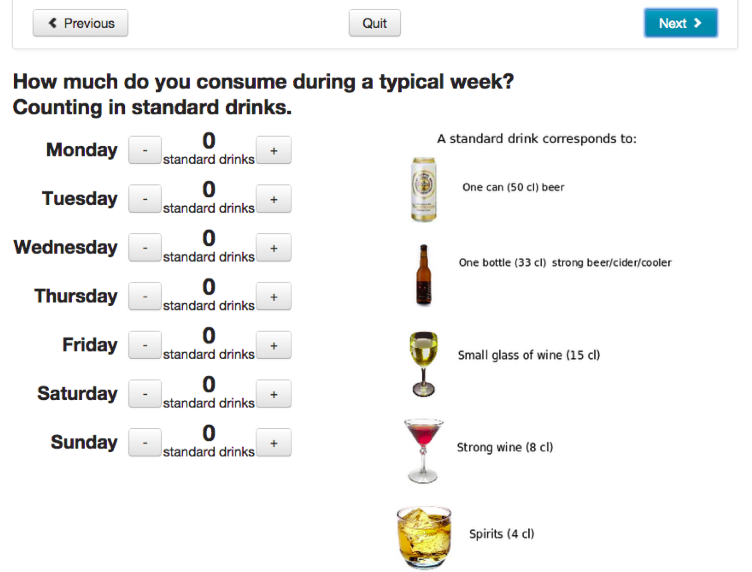 JMIR - Online Alcohol Assessment and Feedback for Hazardous and