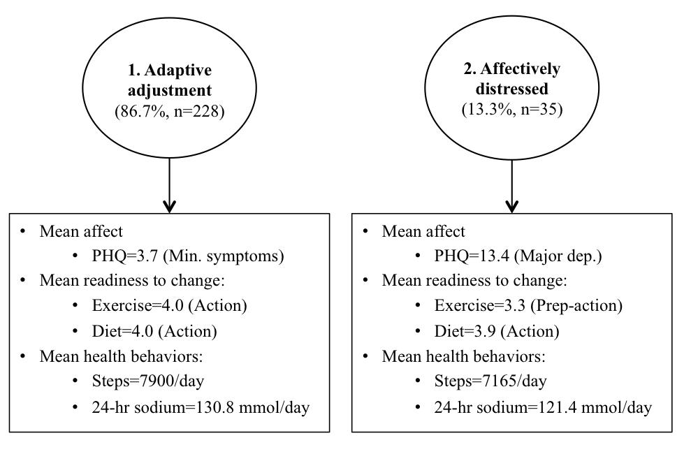 JMIR - Psychobehavioral Profiles to Assist Tailoring of