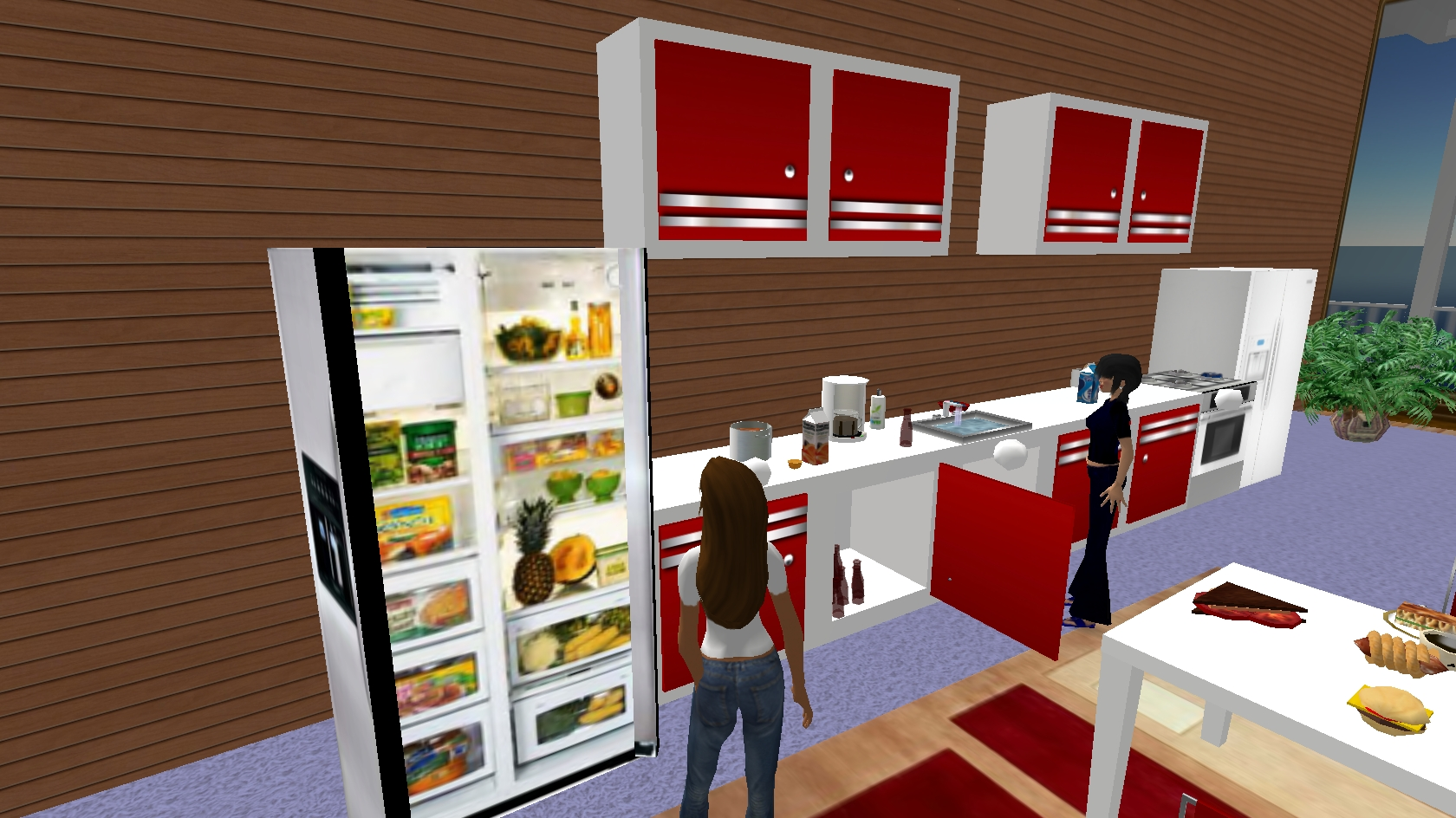 Virtual kitchen autodesk dragonfly online 3d for Kitchen visualizer free