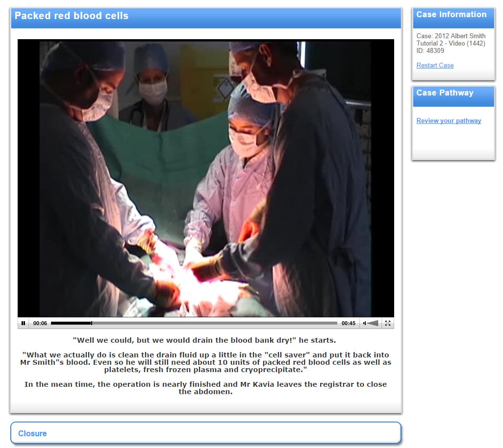 JMIR - Medical Student and Tutor Perceptions of Video Versus